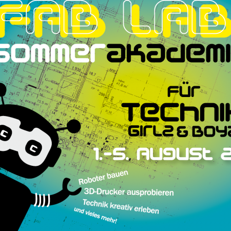 FabLab Sommerakademie 2016