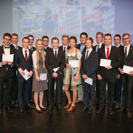 Salzburgs junge Ingenieursgarde: Geehrt für Top-Leistungen