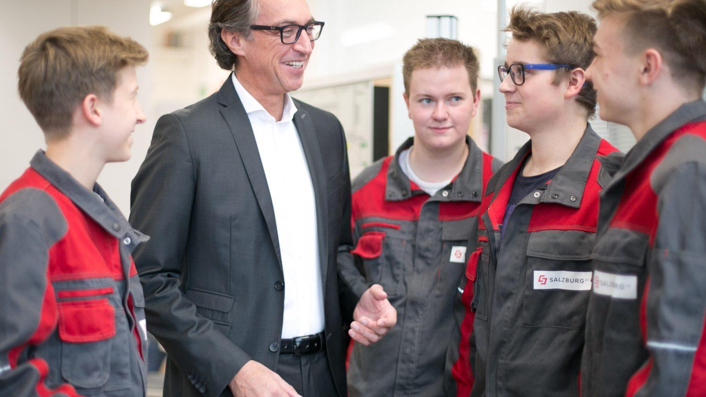 Salzburg AG: 450.000 Euro für neue Lehrwerkstätte